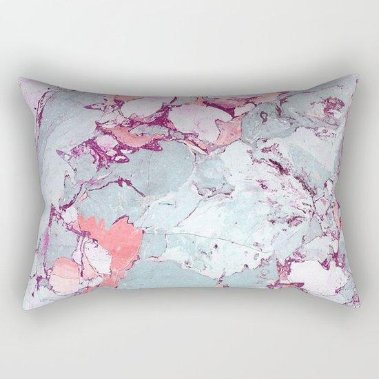 Marble Art V13 #society6 #pattern #decor #home #lifestyle Rectangular Pillow