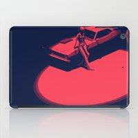picard iPad Cases featuring Peachy by Anton Marrast