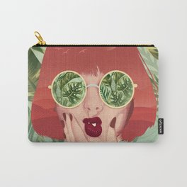 BEACH VIBES Carry-All Pouch