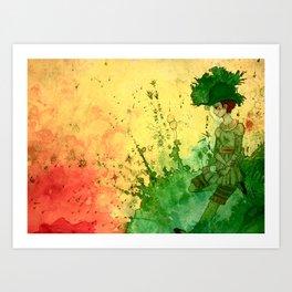 Tea Lounge - Radiant Garden Art Print