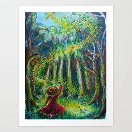 The Forest Awakes Art Print