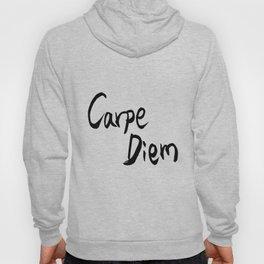 Carpe Diem Black character Hoody