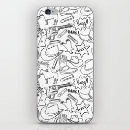 Wild west pattern iPhone Skin
