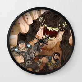 RUN GEARS RUN Wall Clock