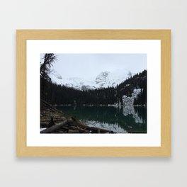 Joffre Lakes Provincial Park Lake #2 Framed Art Print