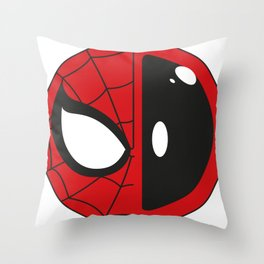 Spideypool: Sign Throw Pillow