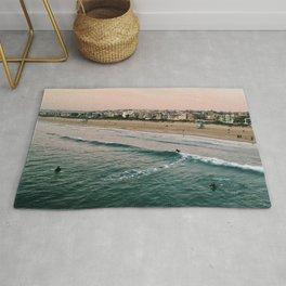 Manhattan Beach Coastline Rug
