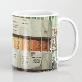 East berlin Weltzeituhr Coffee Mug