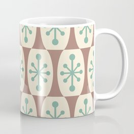 Mid Century Modern Atomic Fusion Pattern 103 Coffee Mug