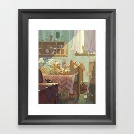 Room Framed Art Print