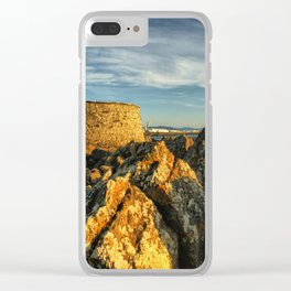 Fortress in Viana do Castelo, Portugal Clear iPhone Case