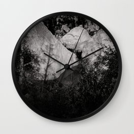 Landscape, Los Padres National Forest Wall Clock