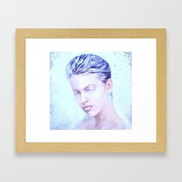 Winter soul Framed Art Print