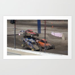 No there not Baby Buggies. Art Print