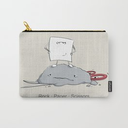 Rock Paper Scissors by dana alfonso Carry-All Pouch
