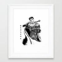 berserk Framed Art Prints featuring GATSU BERSERK by deianaluca