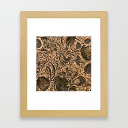 Stone background 3 Framed Art Print
