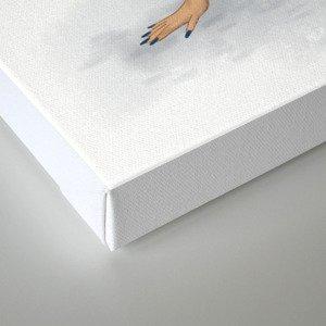 Aerobics pin-up Canvas Print