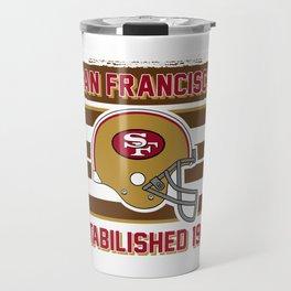 49ers club san francisco Travel Mug