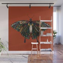 swallowtail butterfly terracotta Wall Mural