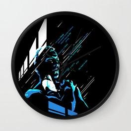 like tears in rain Wall Clock