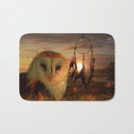Dream Catcher and Magic Owl Bath Mat