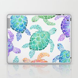 Sea Turtle - Colour Laptop & iPad Skin