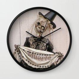 Rucus Studio Muerte - Dia de los Muertos Wall Clock