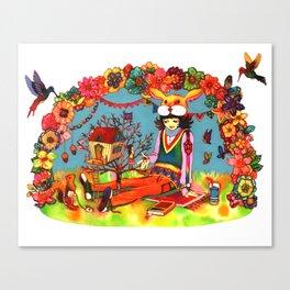 Hideaway Love Canvas Print
