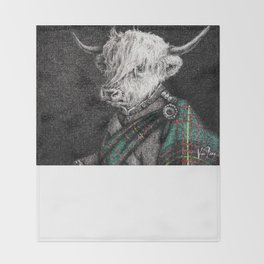 Laird MacAvoy's Return from The Second Boer War Throw Blanket