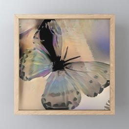 Abstract Butterfly Framed Mini Art Print