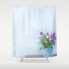 Exhilaration of Spring Shower Curtain