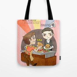 A Little Imagination Tote Bag
