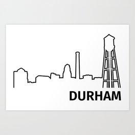 Durham Art Print