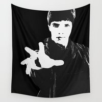 merlin Wall Tapestries featuring Merlin by Elyzewin