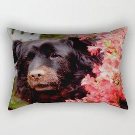 Still digging Rectangular Pillow