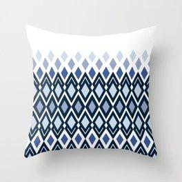 Gray Blue Throw Pillows | Society6