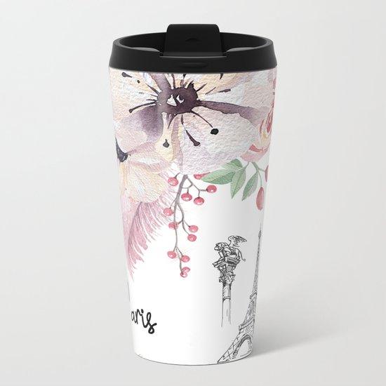 Flowers bouquet #30 Metal Travel Mug