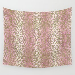 Preppy Leopard Wall Tapestry
