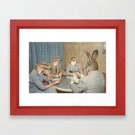 Too Late Mr. Hudson Framed Art Print