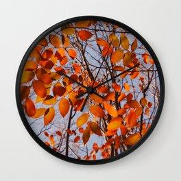 Autumn Desire Wall Clock