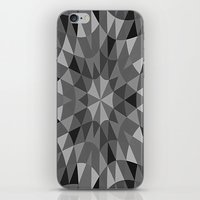 gray pattern iPhone & iPod Skins featuring Gray Pattern by 2sweet4words Designs