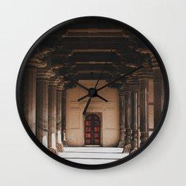 Temple Halls Wall Clock