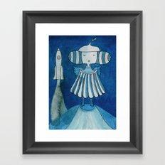 Moonlanding Framed Art Print