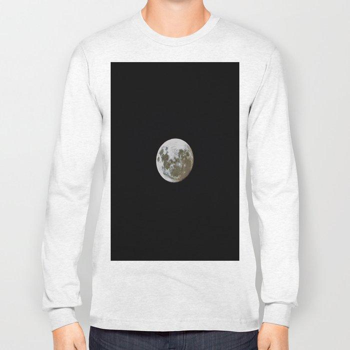 """I'm Full"", said the Moon. Long Sleeve T-shirt"
