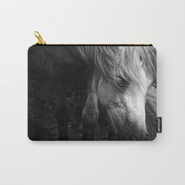 Pregnant Dartmoor Pony Mare Carry-All Pouch