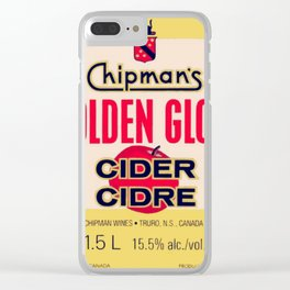 GOLDEN GLOW (Chipman's Wines: Truro, N.S., Canada) Clear iPhone Case