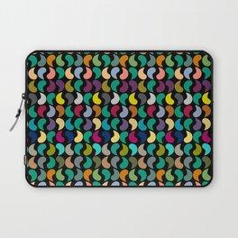 Seamless Colorful Geometric Shapes Pattern Laptop Sleeve