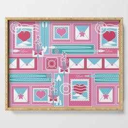 I Heart Mail Serving Tray