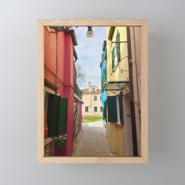 Been There, Shot That (Pt. 7 – Burano, Italy) Framed Mini Art Print